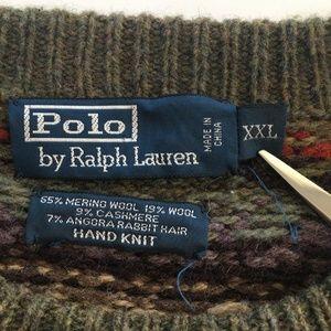 Polo Ralph Lauren Sweaters - Polo Ralph Lauren Fair Isle Geometric Knit Sweater